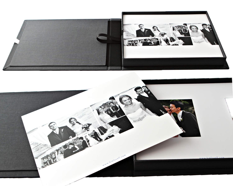 Permanent-stick 3-D Silver Letters to personalize your album Black dry mount photo album