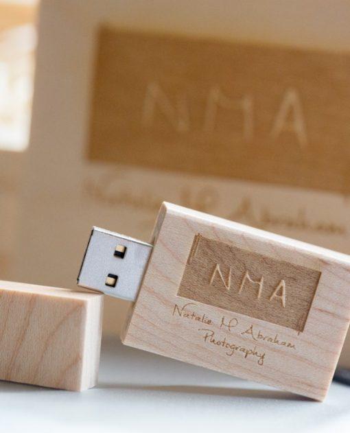 Birch Wood USB