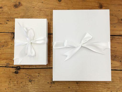 Box with Ribbon